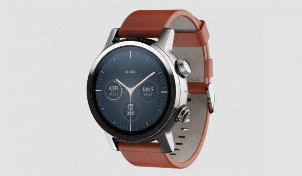 Motorola prepara tres smartwatch para: Moto G, Moto Watch y Moto One